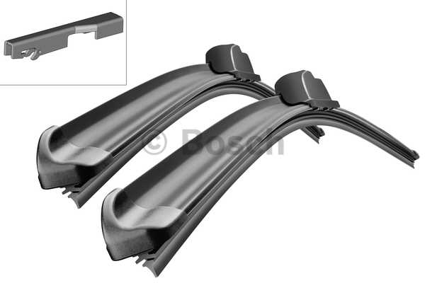 Stergatoare parbriz Bosch Aerotwin 2x555mm Audi A6