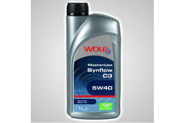 Ulei Wolf 5W40 Masterlube Synflow C3 1L