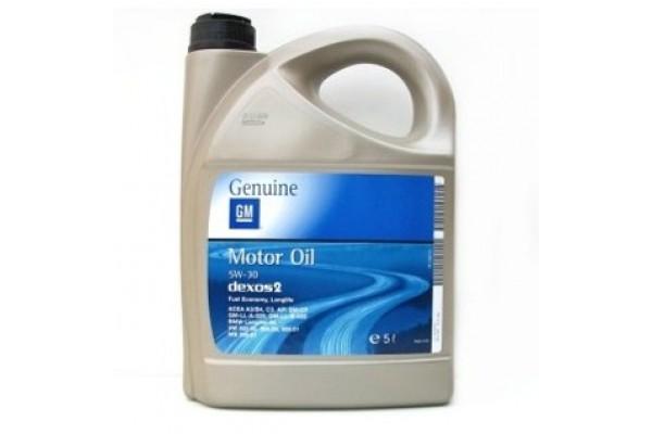 Ulei OPEL 5W30 DEXOS 2, 5 litri - GM
